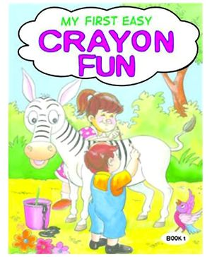 Shree Book Centre  My First Easy Crayon Fun - 1