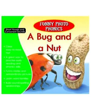 Shree Book Centre Funny Photo Phonics A Bug and A Nut - English