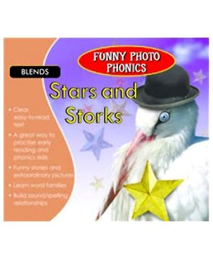 Shree Book Centre Funny Photo Phonics Stars and Storks - English