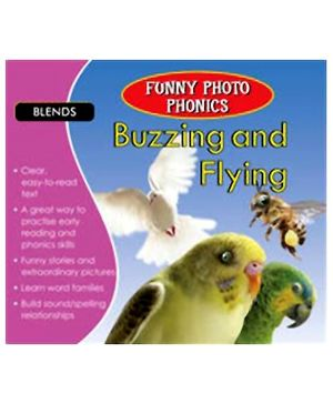 Shree Book Centre Funny Photo Phonics Buzzing & Flying - English
