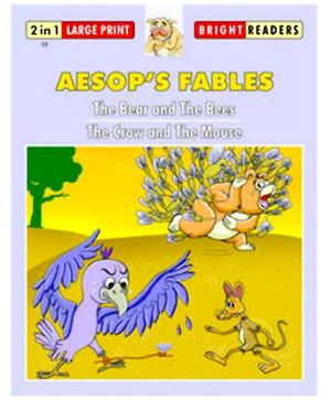 Shree Book Centre Aesop Fables Bear And The Bees and Crow And The Mouse