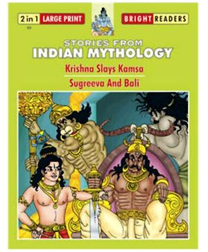 Shree Book Centre Stories from Indian Mythology - Krishna Slays Kamsa And Sugreeva and Bali