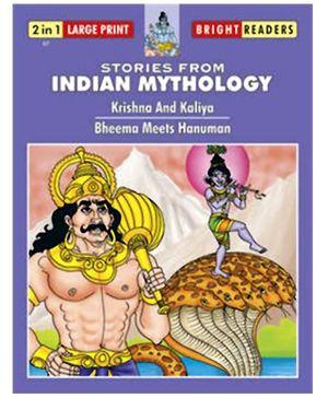 Shree Book Centre Stories from Indian Mythology - Krishna and Kaliya And Bheema Meets Hanuman
