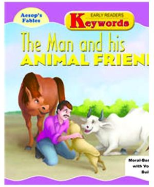 Shree Book Centre Aesops Fables The Man And His Animal Friends - English