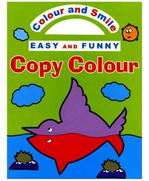 Shree Book Centre Colour And Smile Easy And Funny Copy Colour Green - English