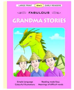 Shree Book Centre Fabulous Grandpa Stories 6 In 1 English - Pink