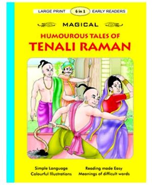 Shree Book Centre Magical Humourous Tales Of Tenali Raman 6 In 1 - English