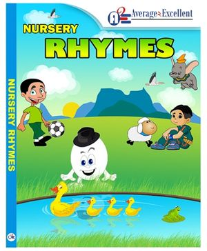 Average2excellent Nursery Rhymes Audio CD -  English