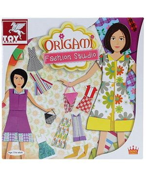 Toy Kraft Origami Fashion Studio - 5 Years Plus