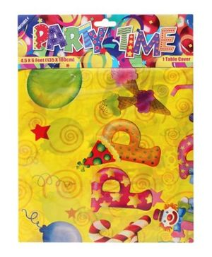 Archies Party Time - Table Cover Happy BDay