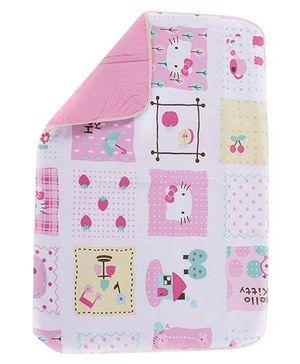 Fab N Funky Hello Kitty Print Baby Mat