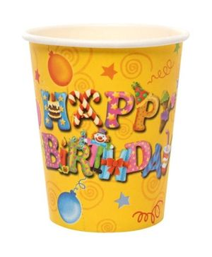 Archies Party Time Cups - Happy Birthday