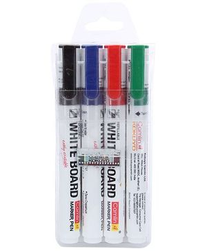 Camlin Refillable White Board Marker Pen - 4 Piece