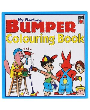 Apple Books My Funtime Bumper Coloring Book - English