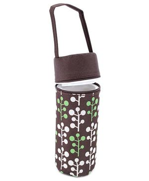 1st Step Single Bottle Insulated Bag - Chocolate Brown