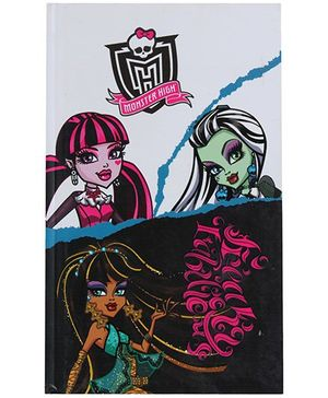 Monster High Print Cover Note Book - 192 Pages