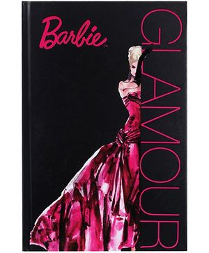 Barbie Notebook Glamour Print  - 96 Sheets