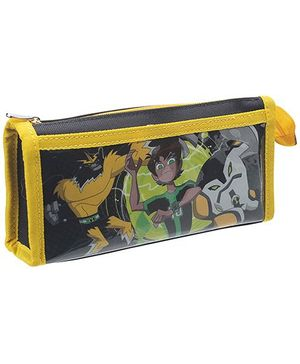 Ben 10 Graphic Printed Pencil Pouch