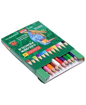 Camel Colour Pencils 12 Shades With Sharpener Inside
