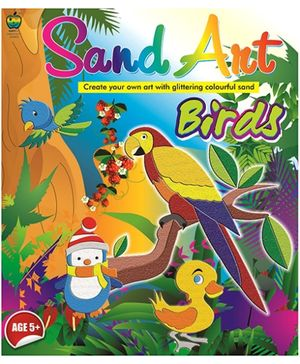 Apple Fun Birds Sand Art - 5 Years Plus