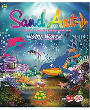 Apple Fun Water World Sand Art - 5 Years Plus