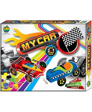 Apple Fun My Car Duos Mould Colour And Play Kit
