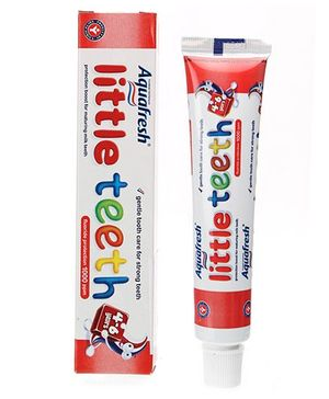 Aquafresh Little Teeth Fluoride Toothpaste - 50 ml