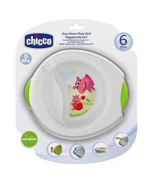 Chicco Stay Warm Plate 2 in 1 - Green
