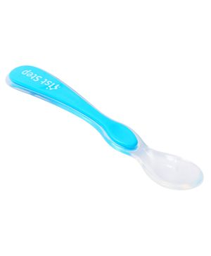 1st Step Silicone Spoon - Blue