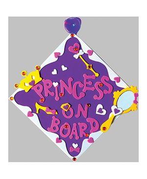 Imagi Make Car Sign Princess