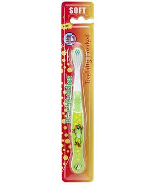 Brush Buddies Toadally Freaked Soft Kids Toothbrush