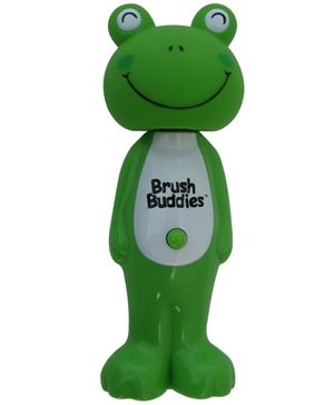 Brush Buddies Poppin Leapin Louie Soft Kids Toothbrush