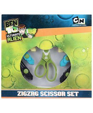 Ben 10 Ultimate Alien Zigzag Scissors Set - 16.5 cm