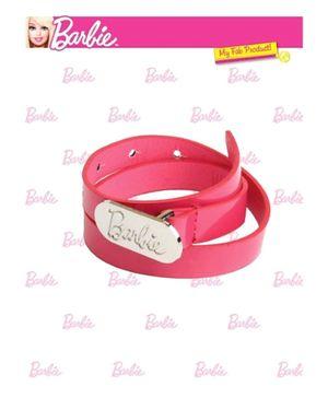 Barbie Buckle Belt Pink