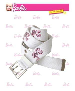 Barbie Studded Canvas Belt