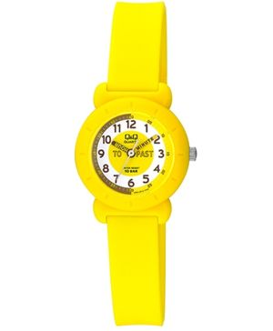 Q&Q Quartz Analog Wrist Watch Yellow