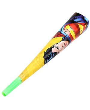 Superman Flute Paper Horn - 6 Pieces