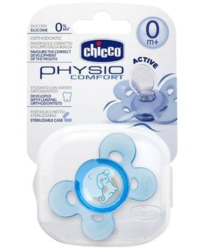 Chicco Physio Comfort Active Soother Blue