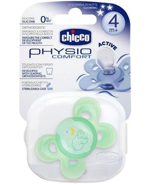 Chicco Physio Comfort Active Soother Green