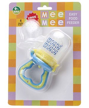 Mee Mee Easy Food Feeder Blue