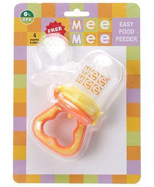 Mee Mee Easy Food Feeder Orange