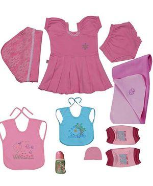 JO Kidswear Clothing Gift Set With Cap - Pink