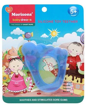 Morisons Baby Dreams Silicone Toy Teether Blue