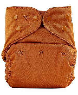 Bumberry Cloth Diaper Cover With One Bamboo Insert - Chocolate