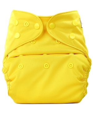 Bumberry Cloth Diaper Cover With Insert Bright Yellow