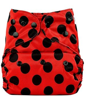 Bumberry Cloth Diaper With Insert Bright Red