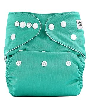 Bumberry Pocket Cloth Diaper With Insert Sea Green
