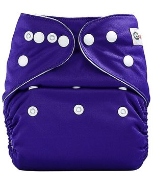 Bumberry Pocket Cloth Diaper With One Microfiber Insert - Bright Purple