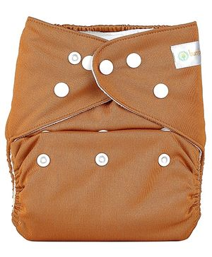 Bumberry Pocket Cloth Diaper With One Microfiber Insert - Chocolate