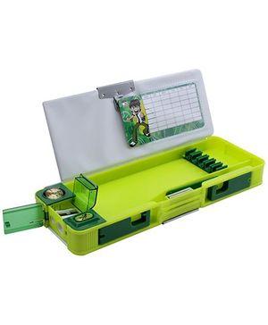 Ben 10 Omniverse Multi Functional Pencil Box Green Box